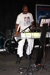 jblack playing the roland ax09 keytar