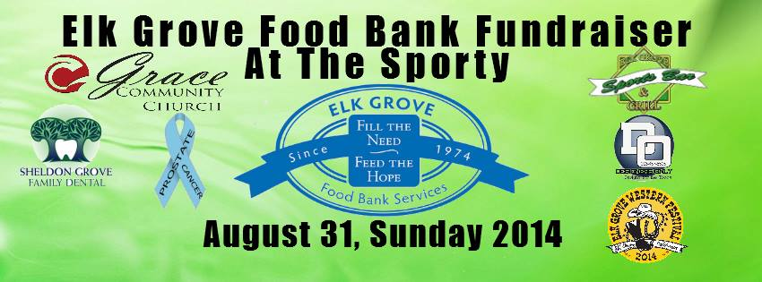 Elk Grove Food Bank Flyer