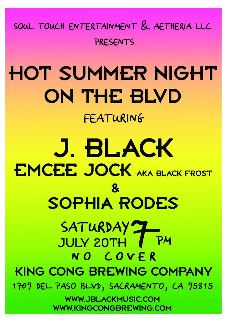 J. Black July 20th King Cong