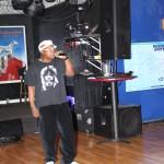Emcee Jock black frost at the j black show