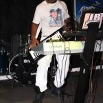 jblack playing the roland ax09 keytar