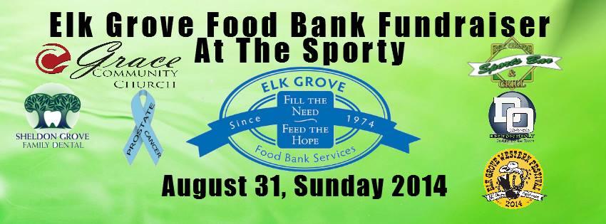 Elk Grove Food Bank Flyer
