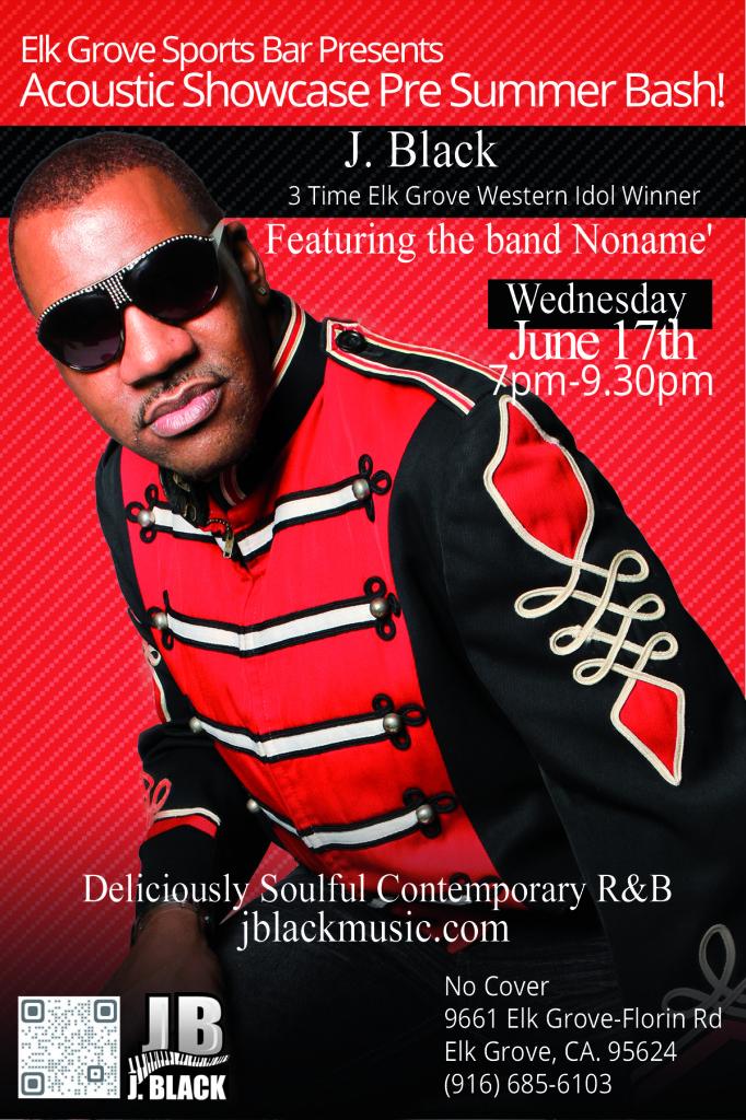 J. Black June 17th Flyer